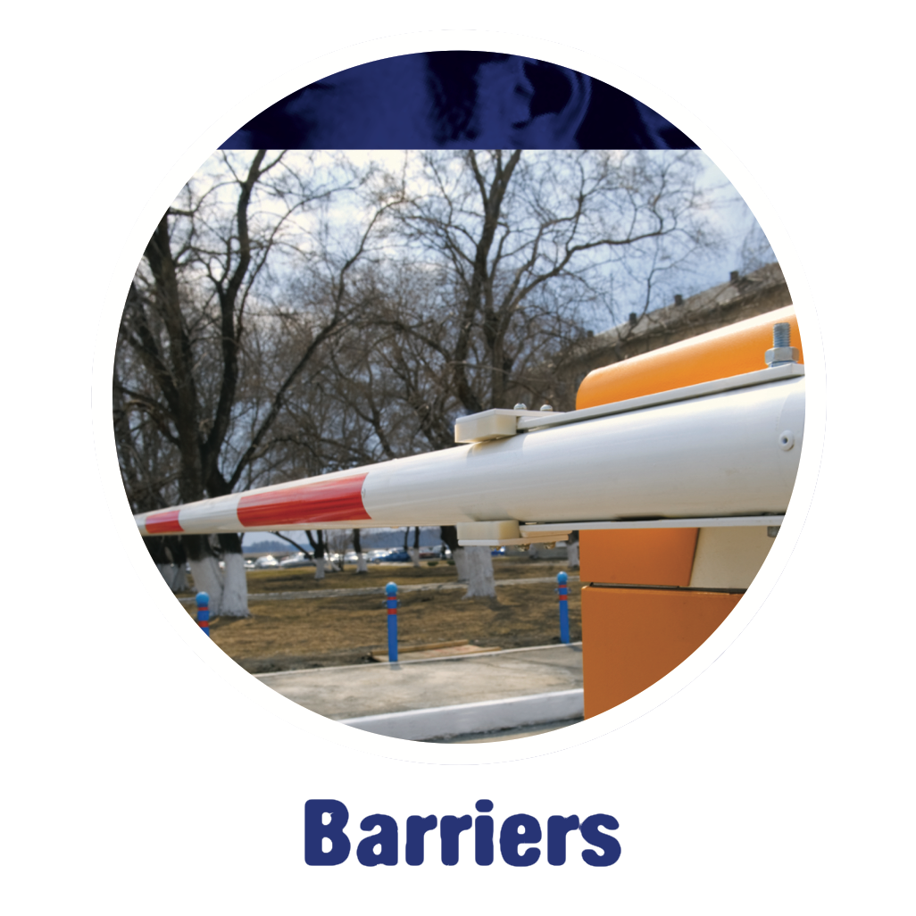 Product Range - Barriers