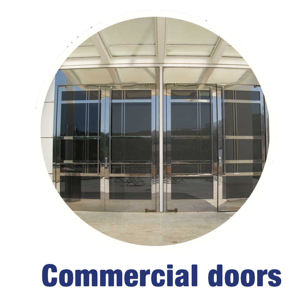 Product Range - Commercial Doors