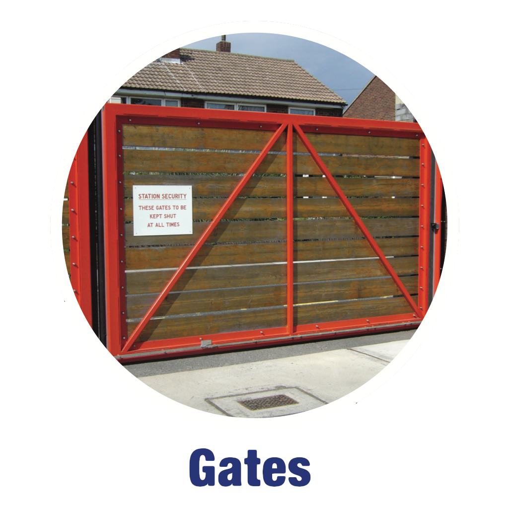 Product Range - Gates