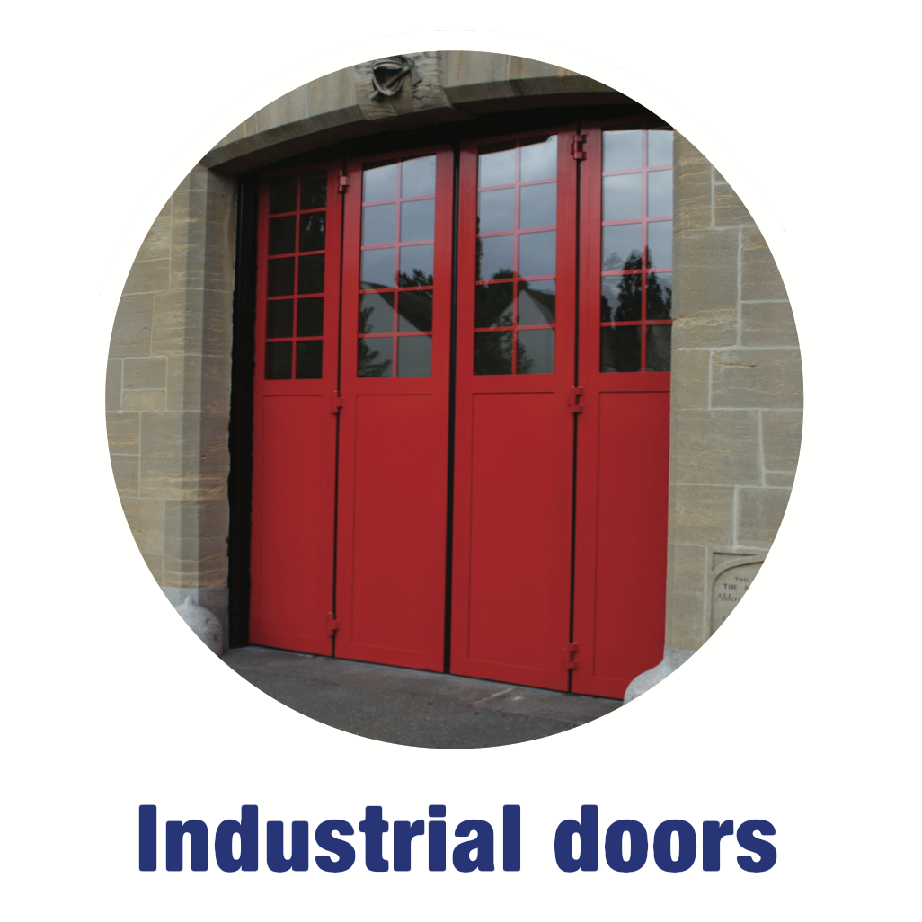Product Range - Industrial Doors