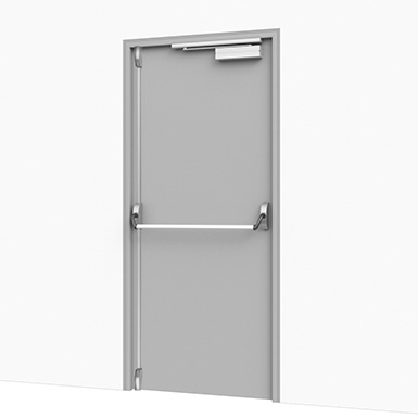 Steel Flush Door
